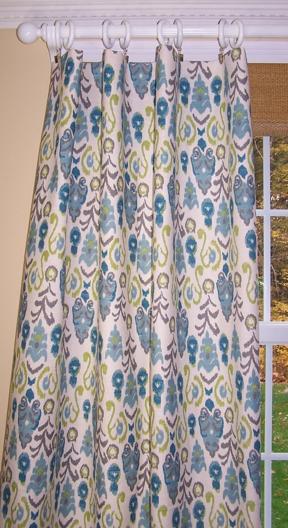 frost blue and green curtains aqua teal and green premier