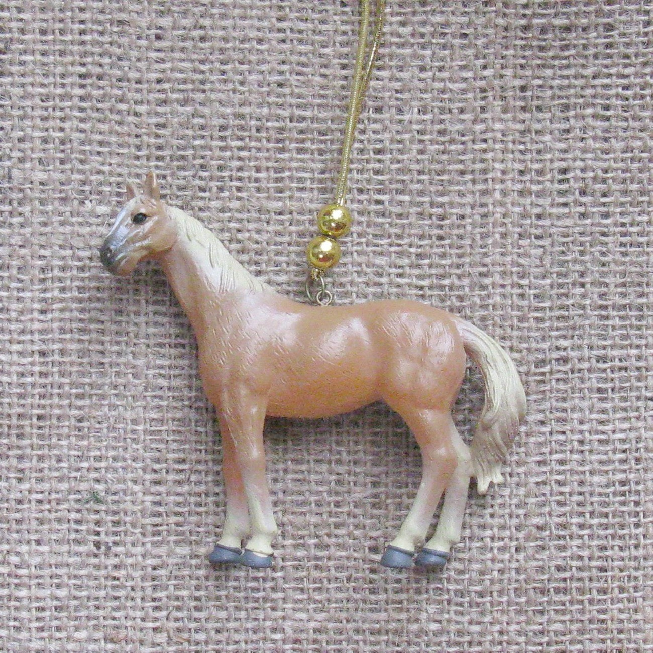 Christmas Tree Ornaments Horse: Brown Horse Christmas Tree Ornament Children's Kids
