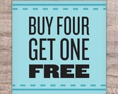 Buy 4 Get 1 Free -  Mix and Match Greeting Cards - stationery, box set, card box set, card deal, variety pack, assortment