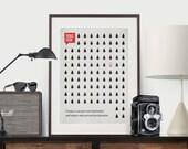 Inspirational Quote, Poster Quote, Art Print, Minimalist Poster, Quote, Illustration, Minimalist Quotation Print - Thomas Edison