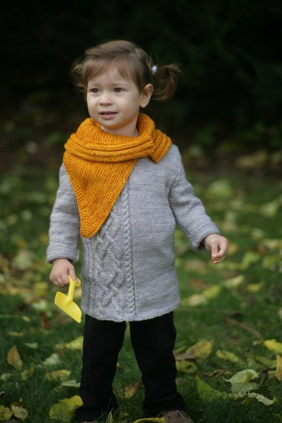 Knitted Cowl Pattern For Toddler : LAURA COWL knitting pattern baby toddler by LyudmylaKnitDesigns