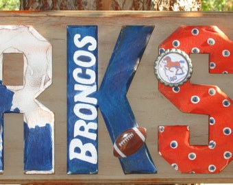 Boise State Personalized Plaque - Customize by name, colors and players. All teams welcome!