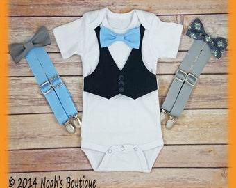 Newborn Boy Coming Home Outfit - Newborn Baby Boy Clothes - Home From Hospital - Newborn Coming Home - Baby Shower Gift - Preppy Newborn