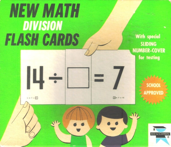 Division New Box New Math Division 1966