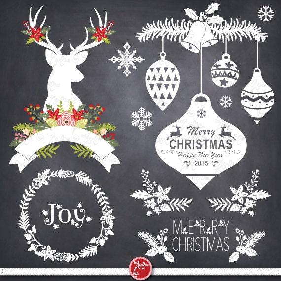 christmas clipart etsy - photo #37