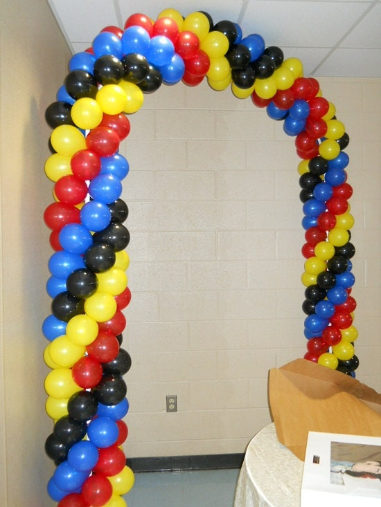 Balloon Arch kit for beginners 5 balloons