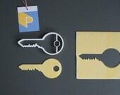 Key cookie cutter, 3D pri...