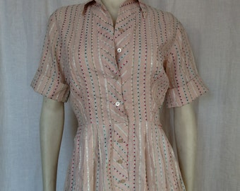 Vintage 50's Dotted Dress