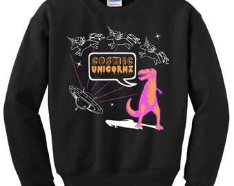 Cosmic Unicornz from Space! Sweatshirt
