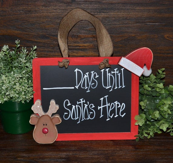 Christmas Countdown Decoration Christmas Decor Countdown To Christmas Hanging