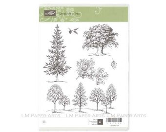 Stampin Up Lovely As A Tree Cling-Mount Stamp Brand New