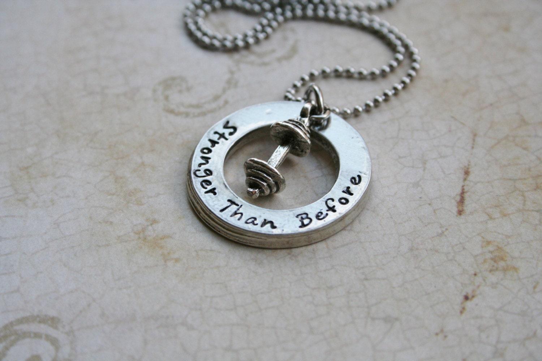 fitness necklace fitness jewelry bodybuilder necklace