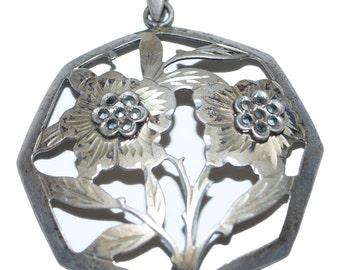 Vintage Marcasite Pendant