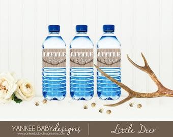 PRINTABLE Little Deer - Water Bottle Labels