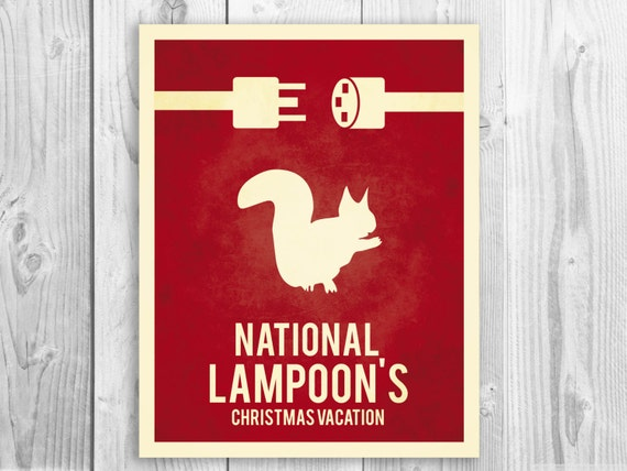 National Lampoons Christmas Vacation Outdoor Decorations : National lampoons print christmas vacation by