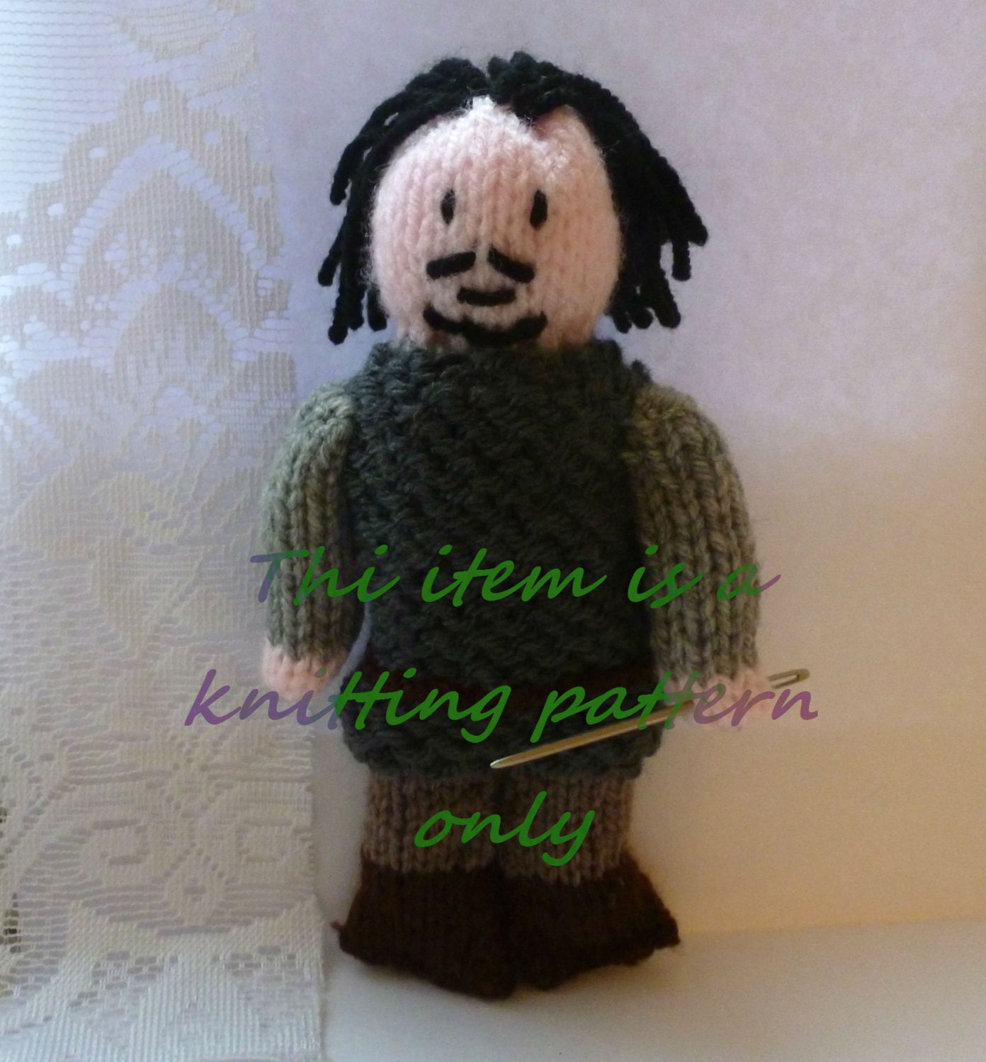 French Knitting Owl Doll : Pdf knitting pattern bronn game of thrones from
