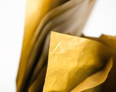 """Metallic Gold Tissue Paper 10 sheets 