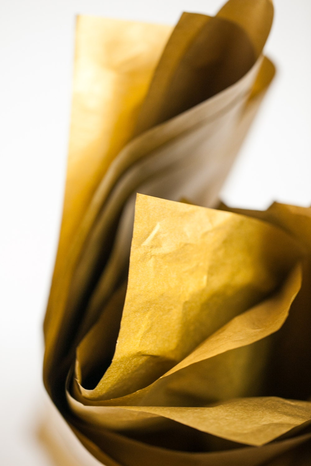 gold tissue paper Tissue paper pom poms are one of the most popular decorative accents used for weddings, birthdays, and any other festive occasion.