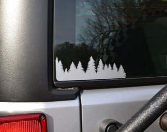 Forest Decal Single Side