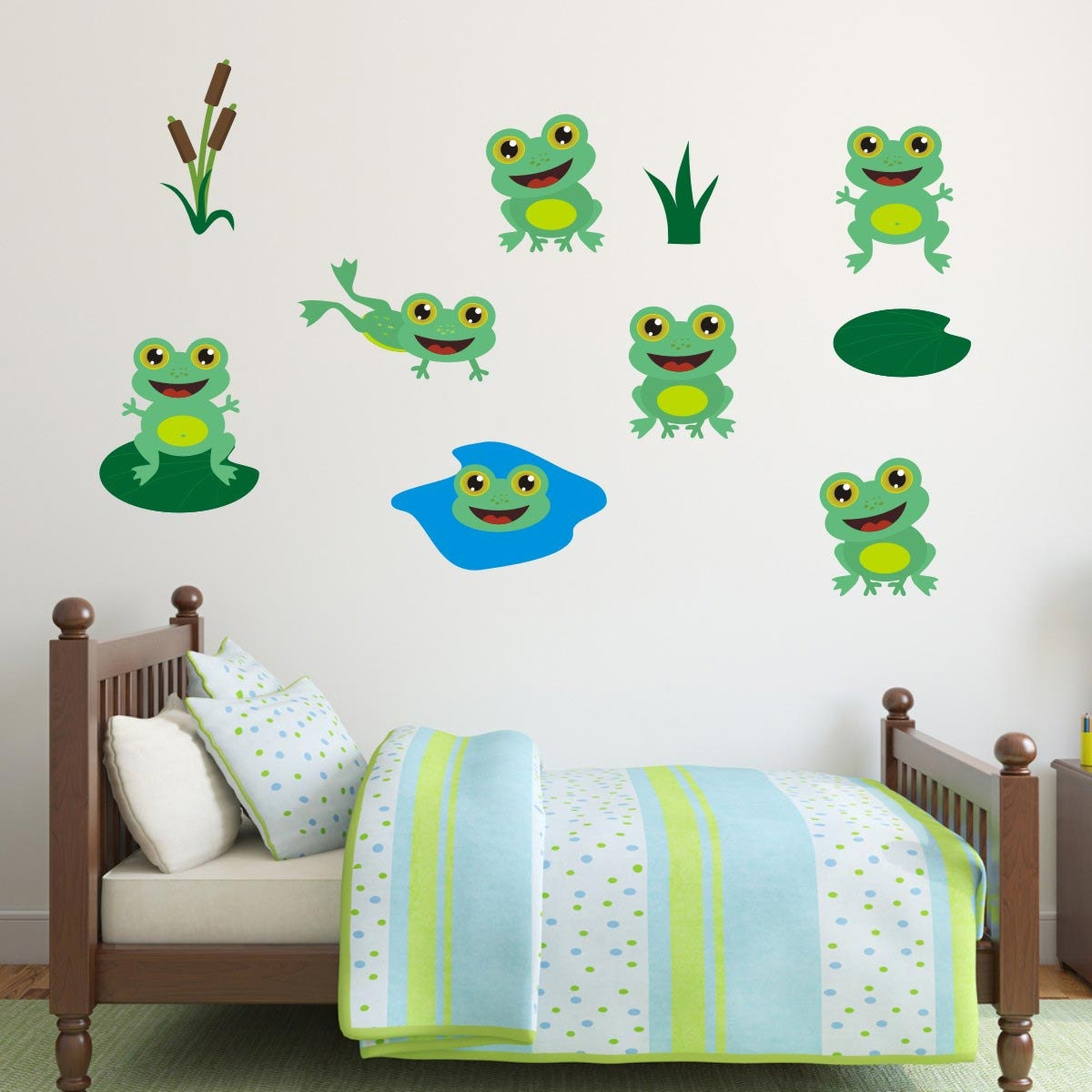 sale frogs wall stickers frog wall decals animal wall art pin frog wall decals on pinterest