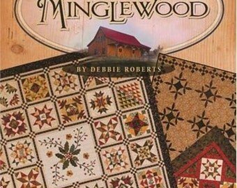 Pattern Book: Four Seasons of Minglewood By Debbie Roberts