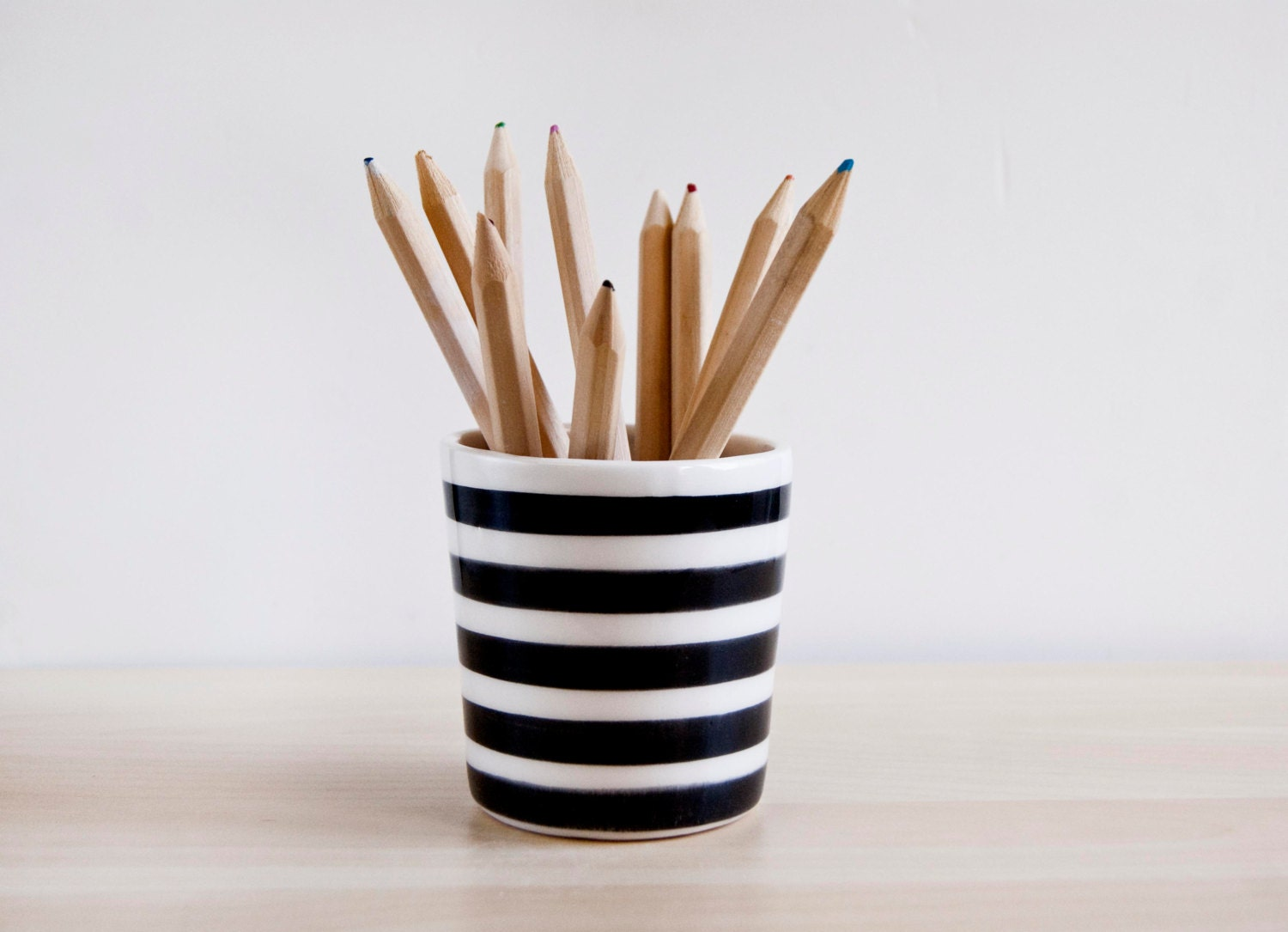 ceramic pencil holder colored pencil holder gifts for