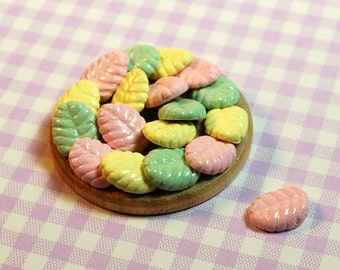 Miniature Cookie/Biscuit Tea Party Dessert Tray (playscale 1:6 scale diorama play doll mini)
