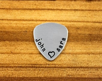 Anniversary Gifts for Men / Custom Guitar Pick / Personalized Guitar Pick / Men's Gifts / Fathers Day Gift / Men's Birthday Gift