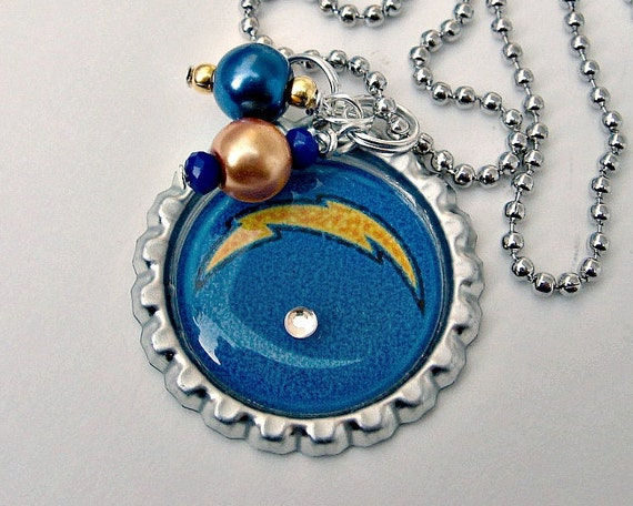 San Diego Chargers Football Necklace San By