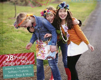 Kids Sewing Book - We Love to Sew by Annabel Wrigley for Fun Stitch Studio  - 10889 - Do It Yourself Projects