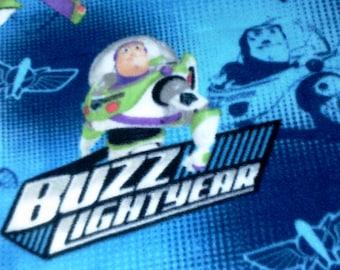 Buzz Lightyear Toy Story Disney Fleece Twin  Blanket