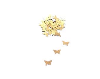 Paper Butterflies, Paper butterfly confetti, Gold Butterfly,Butterfly die cuts, Paper Butterfly scrapbooking Butterfly decoration