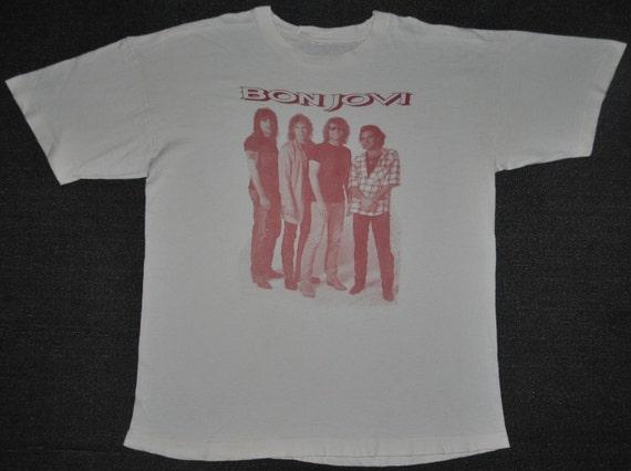 Bon jovi vintage shirt
