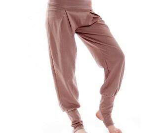 Genie Pants, Sweat Pants, Yoga Pants, Loose Fit Pants, Palazzo Pants, Hippie Pants, Baggy Pants, Plus Size Pants, Organic Cotton Pants