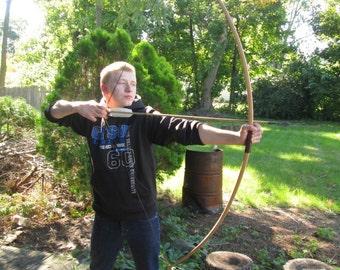 Custom Made Hickory American Longbow