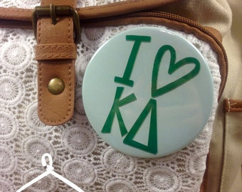 I {Heart} Kappa Delta Button or Magnet