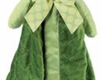 Personalized Turtle Baby Security Blanket - Bearington Snuggler
