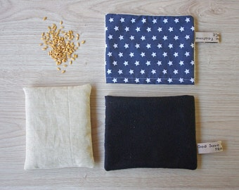 Heating Pad 15x17cm and fleece pouch (A5)