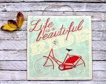 Life-Metal Art-Metal Sign-Tin Sign-Wall Art-Wall Decal-Wall Decor-Beautiful-Inspiration-Inspirational-Love-Home Decor-Kitchen Accents-Faith