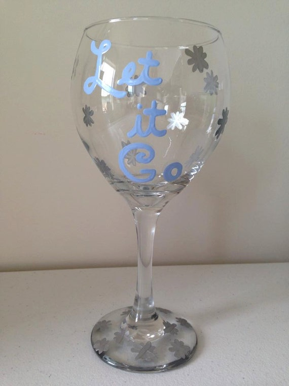 Let it go wine glass frozen Wine glasses to go