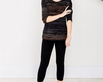 NICO thin pullover Nico black with gradient