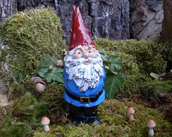Traditional woodland garden gnome garden gnome statue for Combat gnomes for sale