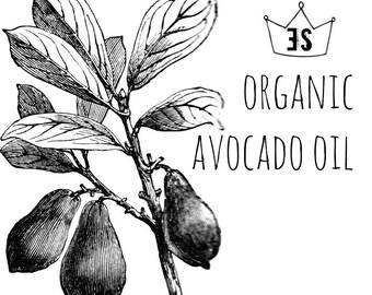 Organic Avocado Oil - Organic Skin Care - Organic Facial Oil - Anti Aging Oil