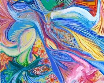 Peinture Oiseau
