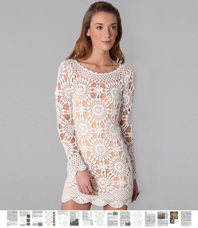 Crochet Dress PATTERN Written Tutorial In ENGLISH For Every
