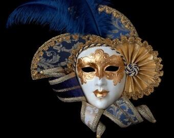 Venetian Mask | Golden Queen