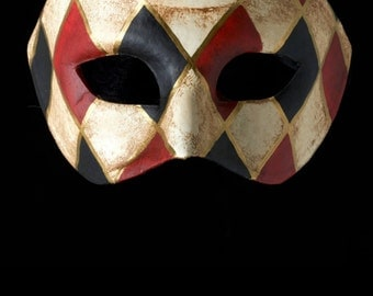 Venetian Mask | Checked Owl
