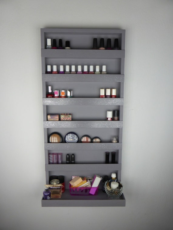 Beautiful View In Gallery Use Small Shelves For Things Like Makeup Products Or Decorative Things The Big Items Can Be Hidden Inside A Cabinet Or They Can Sit On The Counter Next To The Sink View In Gallery The Geometric Design Of This Bathroom
