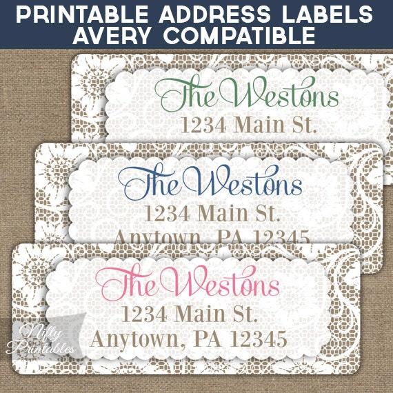 item details With downloadable return address labels