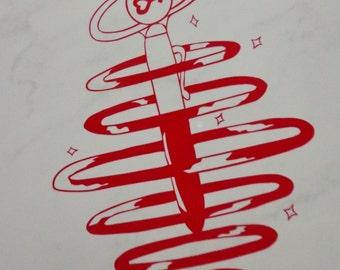 Sailor Jupiter Transformation Pen Vinyl Decal
